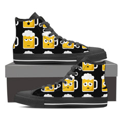 Shoes - Beer Emoji High Tops