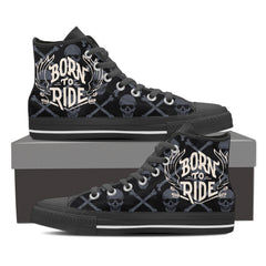 Shoes - Born To Ride High Tops