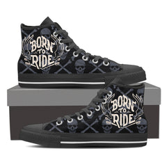 Born To Ride High Tops