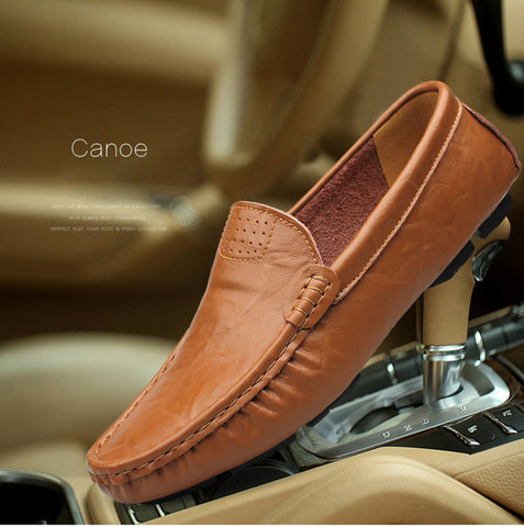 Shoes - Genuine Leather Moccasin Shoes