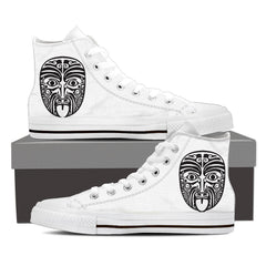 Shoes - Maori Mask High Tops