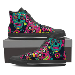 Shoes - Sugar Skull High Tops