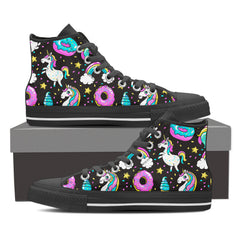 Shoes - Sweet Unicorn Galaxy High Tops