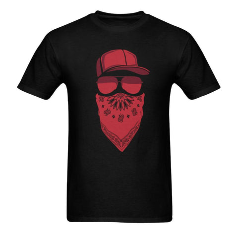 Sunny T-shirt(USA Size) - Red Blood Gang Member Men's Tee