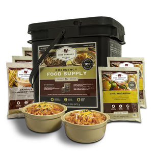 56 Servings of Wise Emergency Food Supply - Wise Company - Northwest Radio Supply