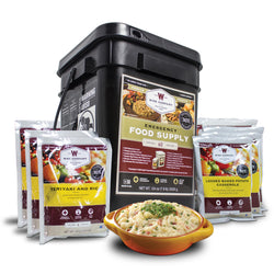 60 Serving Kit of Emergency Freeze Dried Food Entrées - Wise Company - Northwest Radio Supply