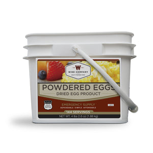 144 Servings of Wise Powdered Eggs - Wise Company - Northwest Radio Supply