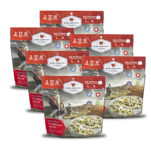 Noodles with Beef Camping Food (Case of 6) - Wise Company - Northwest Radio Supply