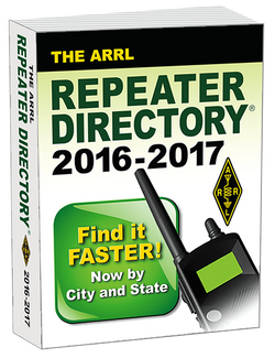 The ARRL Repeater Directory 2016-2017 Edition - ARRL - Northwest Radio Supply