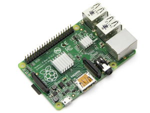Heat Sink Kit for Raspberry Pi B+ - Arrow - Northwest Radio Supply