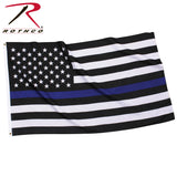 Thin Blue Line U.S. Flag