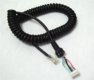 Replacement Mic Cable for Yaesu - Yaesu Generic - Northwest Radio Supply