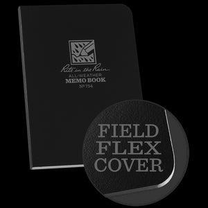 Memo Book (black) - Rite in the Rain - Northwest Radio Supply
