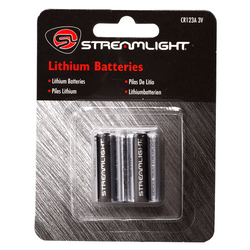 Streamlight CR123A Lithium Batteries - Streamlight - Northwest Radio Supply