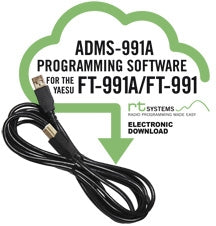 Programming Software and RT-42 USB-A to USB-B cable for the Yaesu FT-991/FT-991A