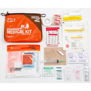 Steelhead Medical Kit, Sportsman Series, Orange/Black