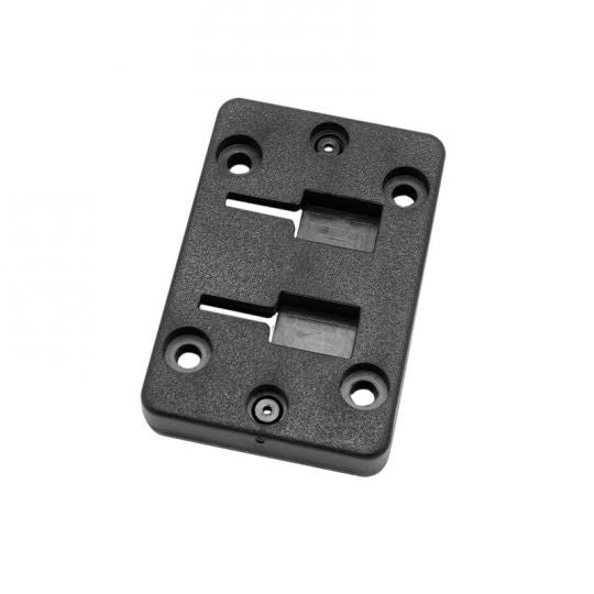 Horizontal Female Dual T-Slot to 4-Hole AMPS Adapter - Arkon - Northwest Radio Supply