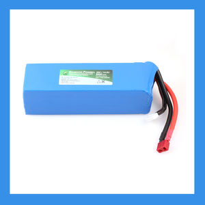30C/50C, 14.8V (4S), 5000 mAh LiPo Battery - BioEnno - Northwest Radio Supply