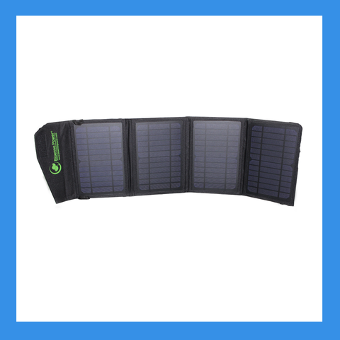 14 Watt Foldable Solar Panel - BioEnno - Northwest Radio Supply
