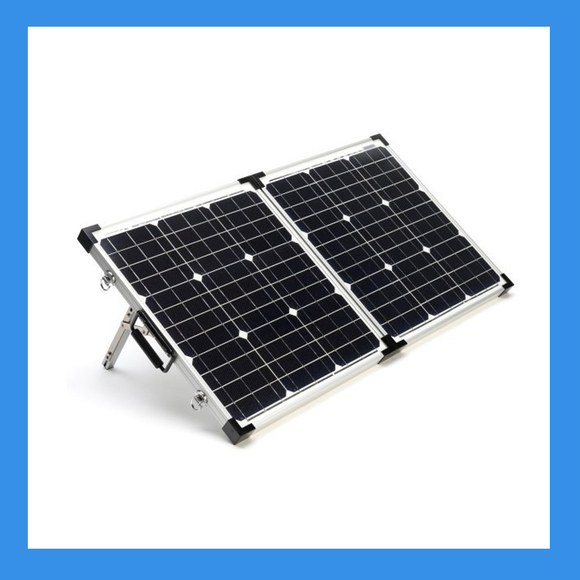 80 Watt Foldable Solar Panel for Charging Power Packs - BioEnno - Northwest Radio Supply