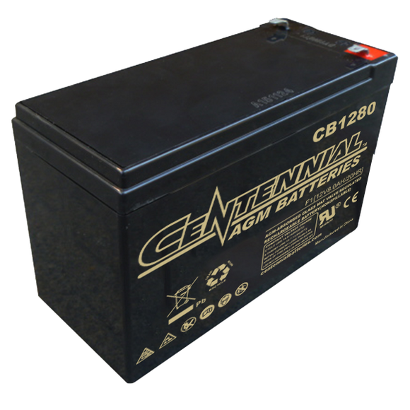 12V 8Ah SLA Battery - Battery Systems - Northwest Radio Supply