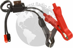 Alligator Clips with ATC fuse to Powerpole Connector - Powerwerx - Northwest Radio Supply