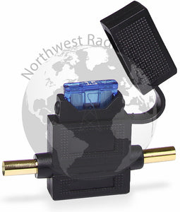 Crimpable Inline ATC/ATO Blade Fuse Holder - Powerwerx - Northwest Radio Supply