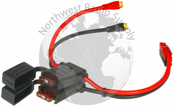 ATC Style Fuse Holders with F-Type Connectors and Powerpole Connectors - Powerwerx - Northwest Radio Supply