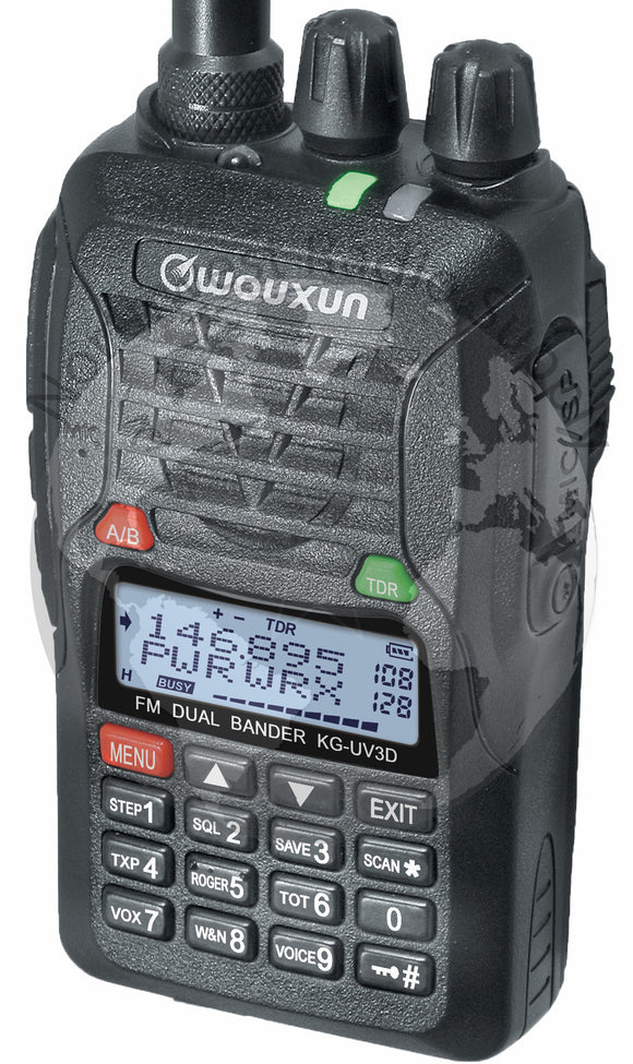 Wouxun KG-UV3D Dual Band 128 Channel Handheld Amateur Radio