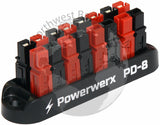 8 Position Power Distribution Block for 15/30/45A Powerpole Connectors - Powerwerx - Northwest Radio Supply