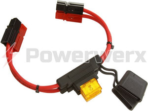 MAXI Fuse Holders with 75 Amp Powerpole Connectors - Powerwerx - Northwest Radio Supply