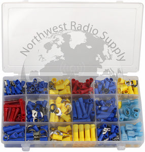 360 Piece Terminal Connector Assortment Box by Powerwerx - Powerwerx - Northwest Radio Supply