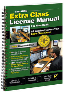 ARRL Extra Class License Manual 11th Edition - ARRL - Northwest Radio Supply