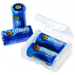 ASP CR123A Lithium Batteries 4 Pack Plus Link Case - ASP - Northwest Radio Supply