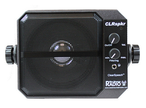 CLRspkr ClearSpeech® DSP Noise Reduction Speaker - West Mountain Radio - Northwest Radio Supply