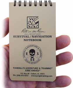 Esee Rite in the Rain Survival/Navigation Notebook - Esee - Northwest Radio Supply