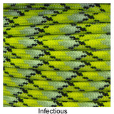Type III 550 Survival Paracord - Infectious
