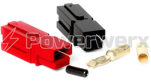 75 Amp Red/Black Anderson Powerpole Connectors - Powerwerx - Northwest Radio Supply