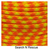 Type III 550 Survival Paracord - Search 'n' Rescue