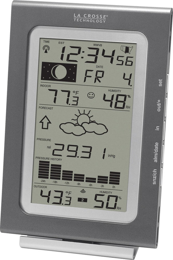 WS-9037U-IT Wireless Forecast Station with Pressure History - Lacrosse Technology - Northwest Radio Supply