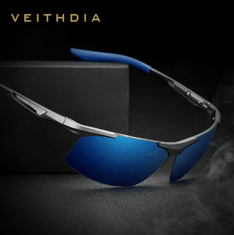VEITHDIA Aluminum Magnesium Men Polarized Sports Sunglasses