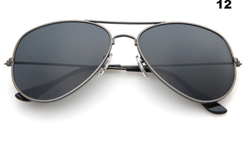 Fashion Star Aviator Mirrored Sunglasses