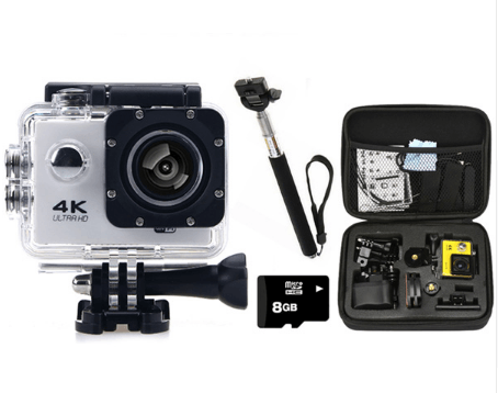 4k Hd waterproof camera