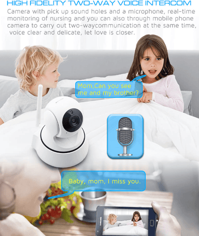 720P IP Wi-Fi Wireless Rotatable Security Surveillance Camera