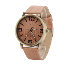 Fantastic Wood Grain Analog Quartz-watch