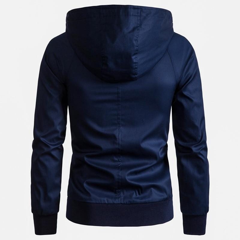 AmberHeard UK Hooded Windbreaker Jackets
