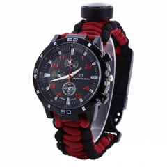 Tactical 5 in 1 Outdoor survival watch