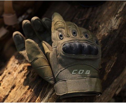 Outdoor Tactical Armor Protection Shell Gloves