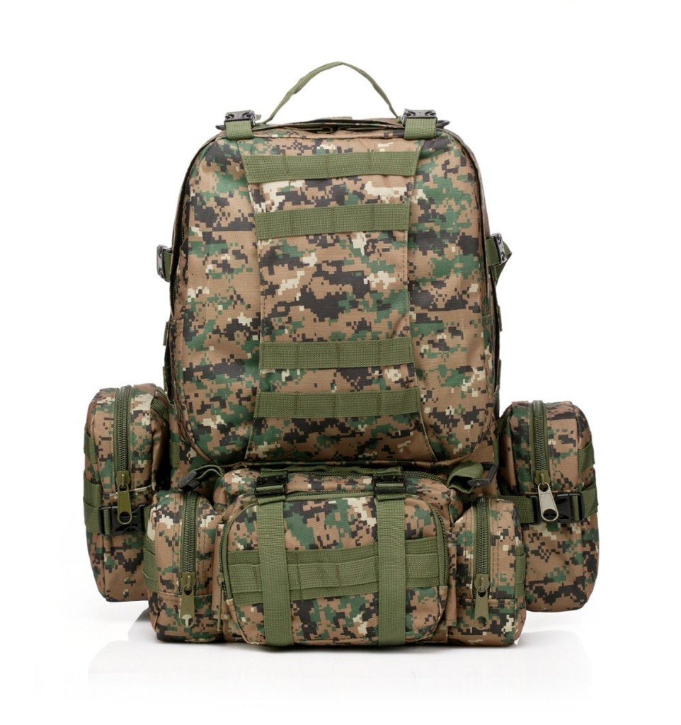 Large Capacity 50L Tactical Outdoor Military Rucksacks Backpack