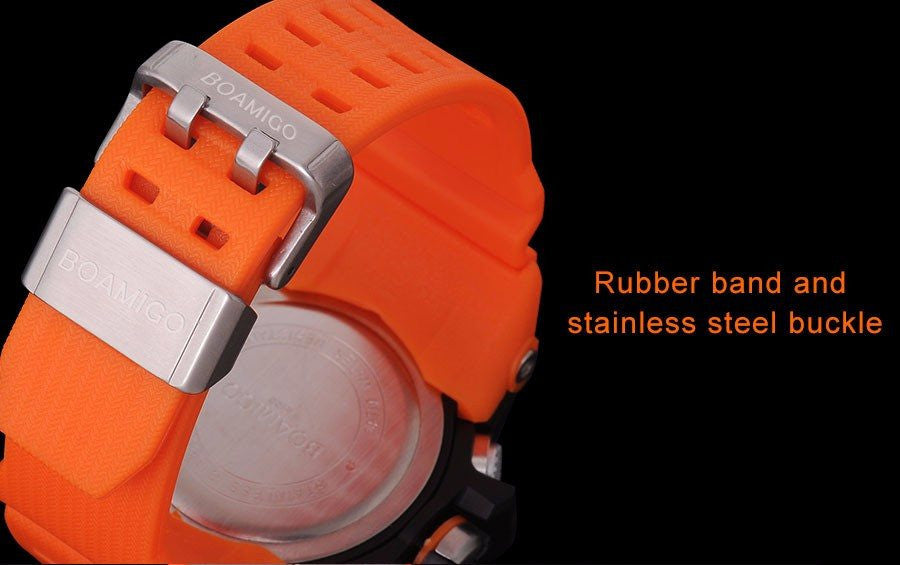rubber watch